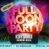 Cha Cha Moon Beach Club Full Moon Party