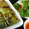 Thai baked fish in basil and coconut sauce