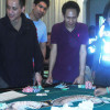 Police arrest 9 foreign nationals for gambling