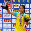 Thailand's Ratchanok Intanon wins the women's world badminton title