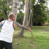 Its Frisbee golf is back on the island thanks to Nigel!