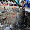 Road collapse in Chinatown did not affect the MRT tunnel