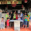 The Samui Pride organization buy and put together furniture for the Special Needs School