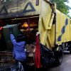 New Zealand man dies after driving his truck into the back of a bin lorry in Maenam
