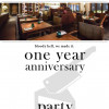 The Larder celebrate their first anniversary tonight form 7pm