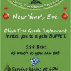 New Years Eve Greek style at The Olive Tree