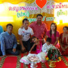 Four year old twins marry each other in Chonburi province