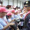 Police station in Bangkok turns child care centre for Songkran holidays