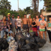 Russian foreigners try to keep Samui clean with help from Thai children