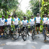 Students embark on cross-country cycling expedition for charity