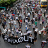 Minor protests in Bangkok, Australia downgrades ties with Thailand and Samui tourists not even aware of the coup