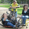 McKinnon mother-daughter cycling up a storm through Thailand to help people with disabilities