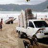 Vendors begin to move off Phuket's Patong Beach