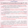 Immigration Announcement About Visa Exempt Extensions & Other Changes On the 29th