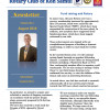 Rotary Club News Letter August 2014