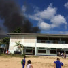 Fire breaks out at a school in Chaweng