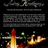 An invitation to join the Loy Krathong celebrations at Zazen on 6th November