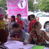 Migrant workers flock one-stop-service employment office for final registration