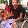 DONATIONS SOUGHT URGENTLY FOR RAKHINE DISABLED MIGRANT WORKPLACE ACCIDENT VICTIM ON KOH SAMUI
