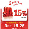 2nd year anniversary sale at the Lamphu Health Shop