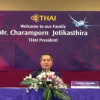 Cancellation of Europe-bound flights only temporary: THAI president