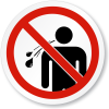No spitting or blowing your nose in public places law to be enforced