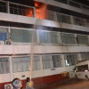 Fire burns down Lampang police stations' evidence room
