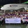 TAT and THAI mark 55th anniversary with an educational tour for Thai youths