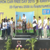 Over 30,000 cyclists joined in Bangkok Car Free Day 2015