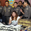 Thai woman arrested after drugs found hidden inside shipment of women's shoes