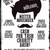 An invitation from Bootleggers to grow a tache and raise money for charity