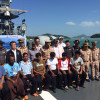 Seven Myanmar crewman stranded at sea off Phuket rescued by Royal Thai Navy