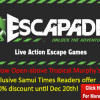 Exclusive offer for Samui Times readers at Escapade Koh Samui