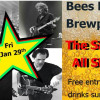 Live music at the Bees Knees Brew Pub Friday 29th January