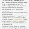 Urgent request for A negative blood in Chiang Mai for Brit involved in bike accident