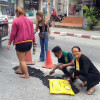 Samui Merchants Give Up on Govt, Repair Own Road