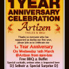 Artizen are celebrating their first anniversary and you are invited to join them