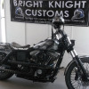 Bright Knight Customs turn a bike into a work of art