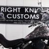 Bright Knight Customs showcase two of their latest projects