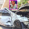 'Amulets saved my life' says Thai driver in 'miracle' escape!