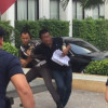 Man threatens to set himself on fire at the National Police Office