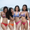 Nice views on Phuket beaches yesterday as Miss Thailand hopefuls raise temperatures even more