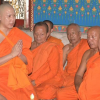 Benz driver Janepop who killed students ordains into the monkhood