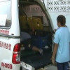 Three-year old girl died of suffocation in a locked van