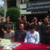 Surat police arrested three men for transporting nearly 90,000 Ya Ba tablets from Bangkok down South