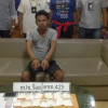 Phuket drug dealer busted with 698.5grams of ya ice, police now hunt his supplier
