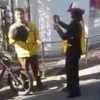 Traffic cop slaps motorist – caught on tape