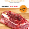 Thai Wagyu Steaks, Was B890, Now just B590! delivered to your door in Samui