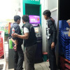 Two men try to steal ATM Machine by pulling it with truck, fail miserably