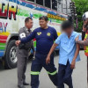"""I'm Ok to drive"" says Thai bus driver as he collapses on sobriety test"